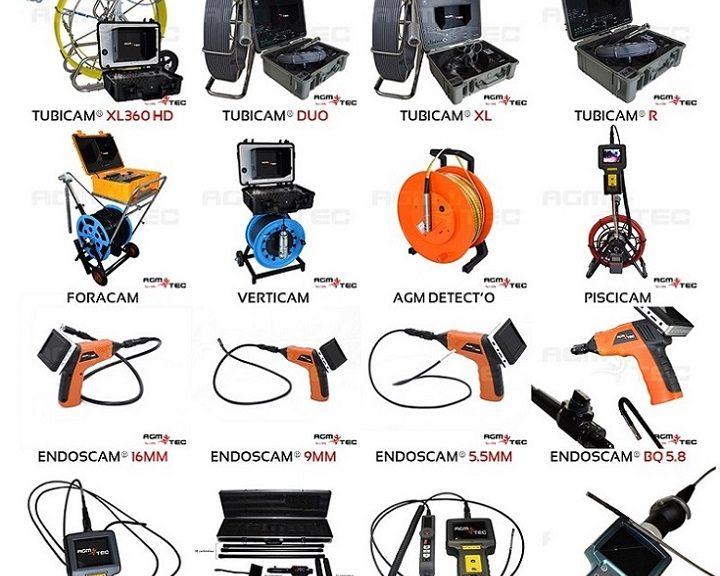 Sistema de inspecção vídeo de canalização